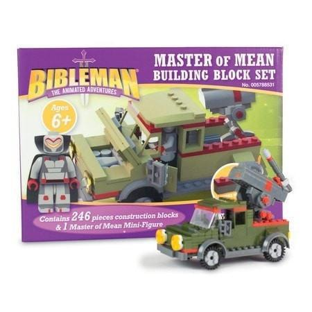 Bibleman - Master of Mean - Building Block Set-Christian Building Toys-SonGear Marketplace-SonGear