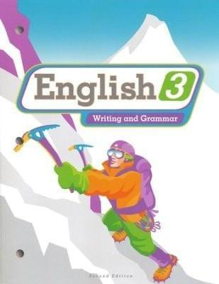 BJU English Grade 3 Student Worktext, Second Edition (Student Copryright Update)-Christian Books-SonGear Marketplace-SonGear