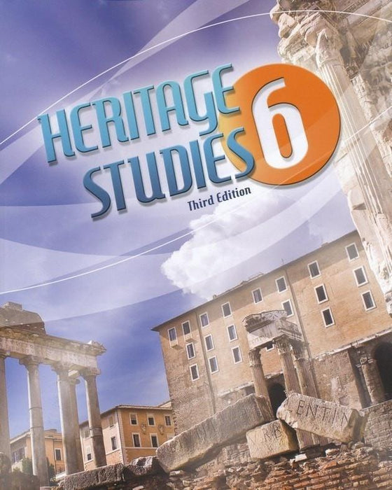 BJU Heritage Studies Grade 6 Student Text, Third Edition-Christian Books-SonGear Marketplace-SonGear