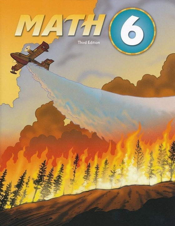 BJU Math Grade 6 Student Text, Third Edition-Christian Books-SonGear Marketplace-SonGear