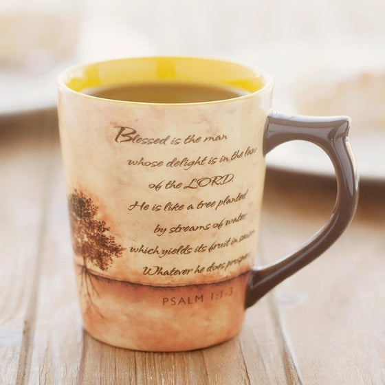 'Blessed Is The Man' Mug
