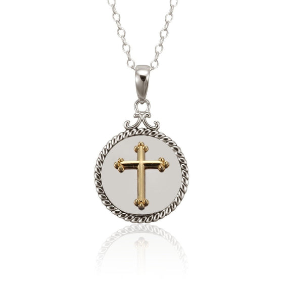 Blessed Sterling Silver Necklace-Christian Necklaces-Halle Joy-SonGear