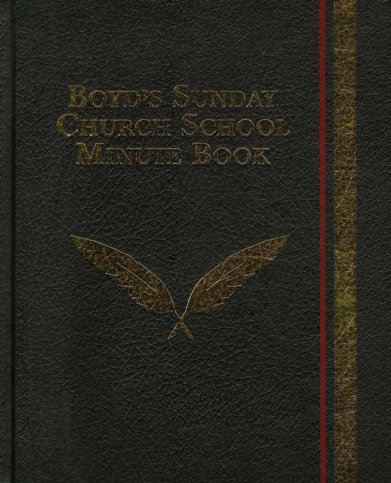 Boyd's Sunday Church School Minute Book-Christian Books-SonGear Marketplace-SonGear