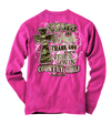 Camo And Pearls Cherished Girl Long Sleeve Shirt, Christian Long Sleeve Shirts, Kerusso, , CGL15012X - SonGear