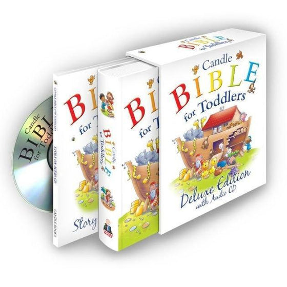 Candle Bible For Toddlers-Deluxe Edition w/CD-Christian Music-SonGear Marketplace-SonGear