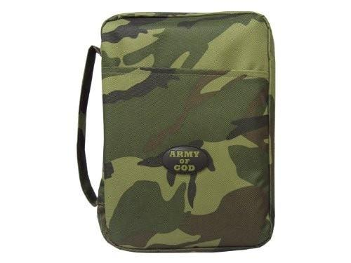 Canvas Bible Cover - Army Of God - Medium Camouflage, Christian Bibles, SonGear Marketplace, 788200536740, 788200536740 - SonGear
