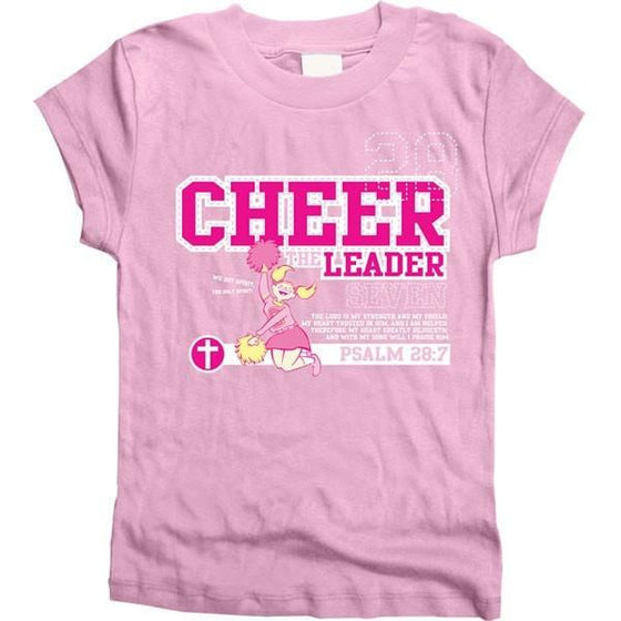 Cheer the Leader - Youth Shirt, Christian T-Shirts, Gardenfire, , SGN930734865 - SonGear