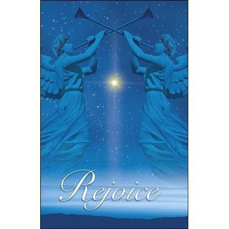 Christmas Angels Christmas Rejoice, Pack of 50 Bulletins-Christian Church Supplies-SonGear Marketplace-SonGear
