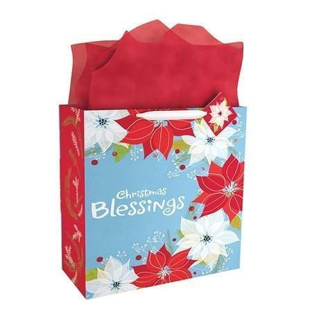 Christmas Blessings Gift Bag, Extra Large-Christian Gift Bags-SonGear Marketplace-SonGear