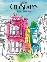 CityScapes Adult Coloring Book (32 Pages)-Christian Toys & Games-SonGear Marketplace-SonGear