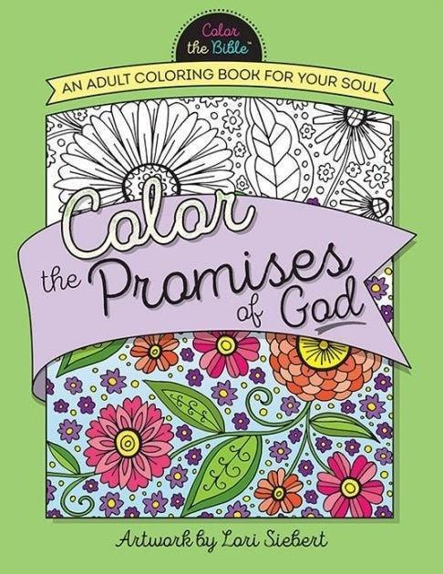 Color The Promises Of God Adult Coloring Book (May 2016)-Christian Books-SonGear Marketplace-SonGear