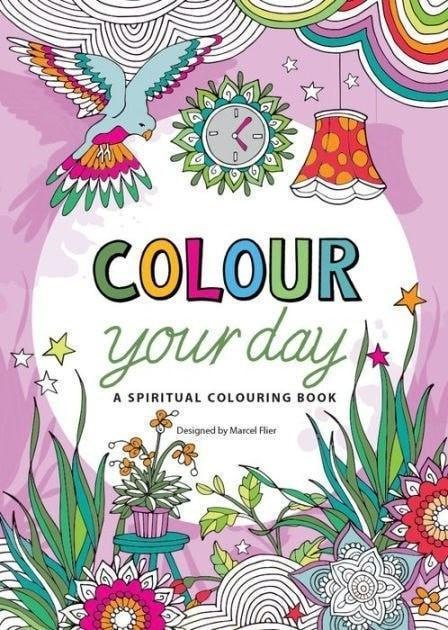 Colour Your Day: A Spiritual Colouring Book-Christian Books-SonGear Marketplace-SonGear