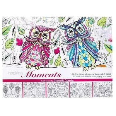 Craft & Coloring Book - Owls-Christian Books-SonGear Marketplace-SonGear