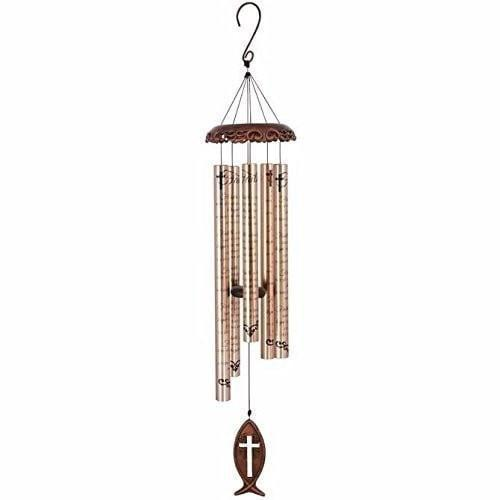 Cross Fish Vintage Chimes, Large-Christian Wind Chimes-SonGear Marketplace-SonGear