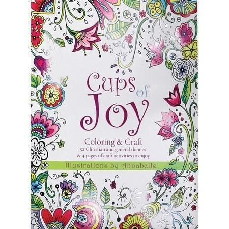 Cups of Joy Coloring Book-Christian Books-SonGear Marketplace-SonGear