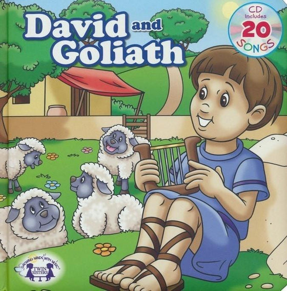 David And Goliath Padded Board Book w/CD (Lets Share A Story)-Christian Music-SonGear Marketplace-SonGear