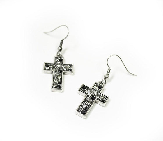 Devotion Cross Earring-Christian Earrings-Halle Joy-SonGear