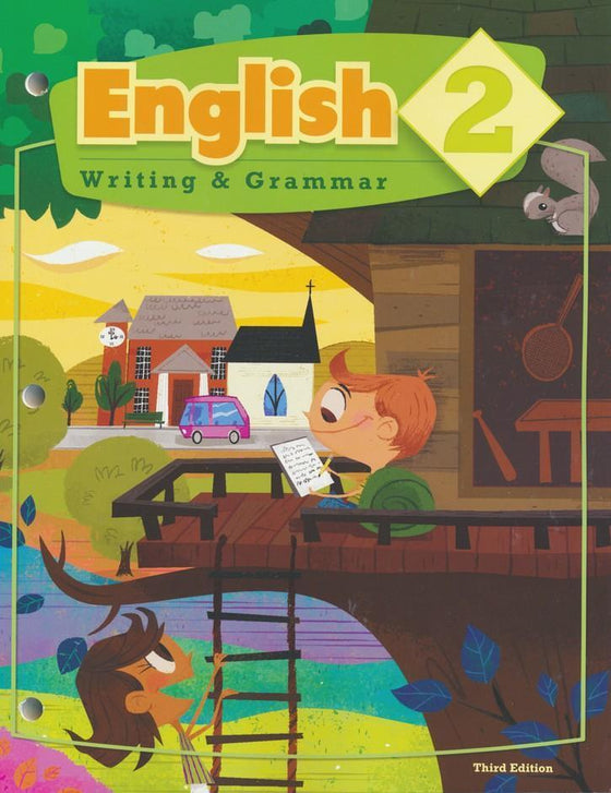 English, Writing & Grammar Grade 2 Student Worktext (3rd Edition)-Christian Books-SonGear Marketplace-SonGear