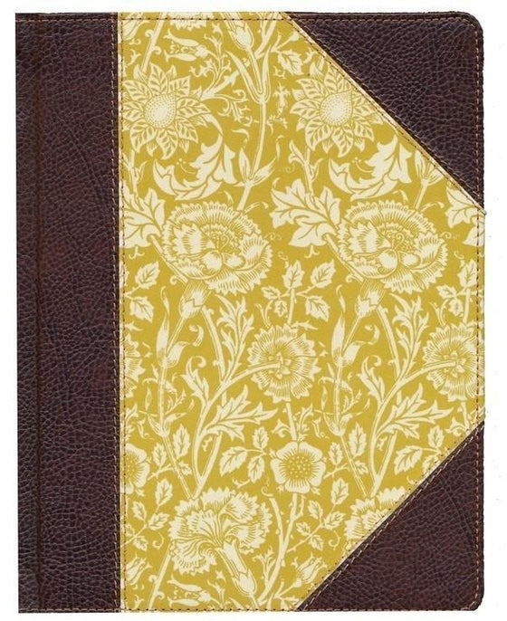 ESV Single Column Journaling Bible - Antique Floral-Christian Bibles-SonGear Marketplace-SonGear