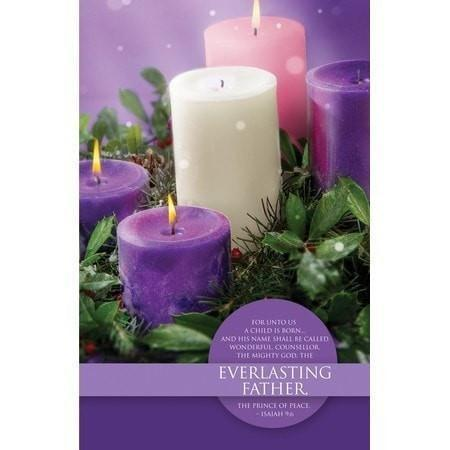 Everlasting Father (Isaiah 9:6) Advent Bulletins, 100-Christian Church Supplies-SonGear Marketplace-SonGear