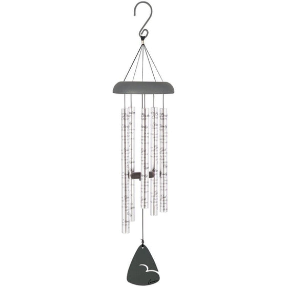 'Family Chain' Silver Sonnet Wind Chime-Christian Wind Chimes-SonGear Marketplace-SonGear