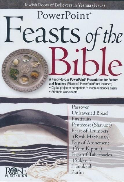 Feasts & Holidays of the Bible: PowerPoint CD-ROM-Christian Books-SonGear Marketplace-SonGear