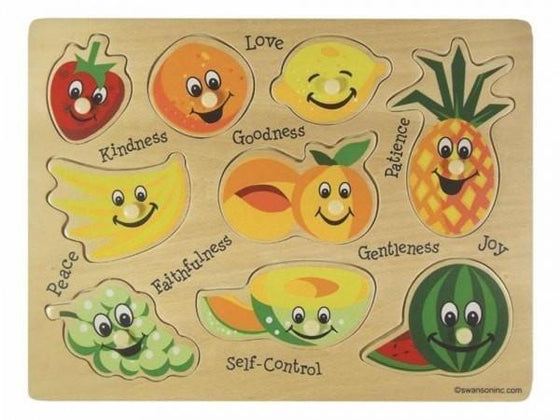 Fruit Of The Spirit Wooden Puzzle-Christian Puzzles-SonGear Marketplace-SonGear