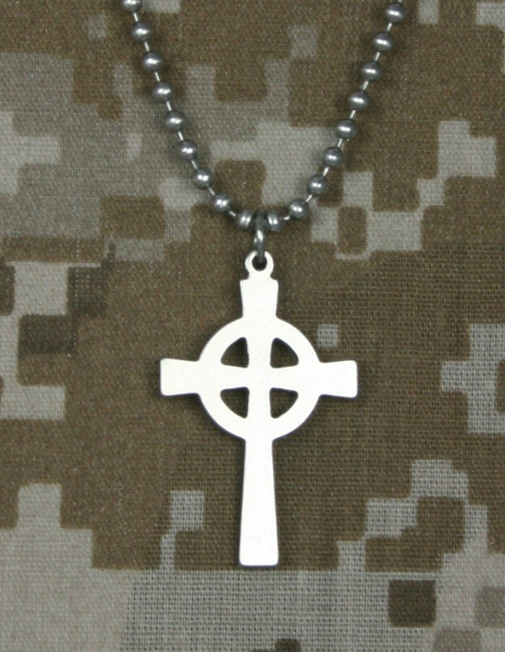Genuine U. S. Military Issue Celtic Cross-Christian Necklaces-GI Jewelry-SonGear