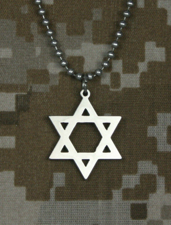 Genuine U. S. Military Issue Star of David-Christian Necklaces-GI Jewelry-SonGear