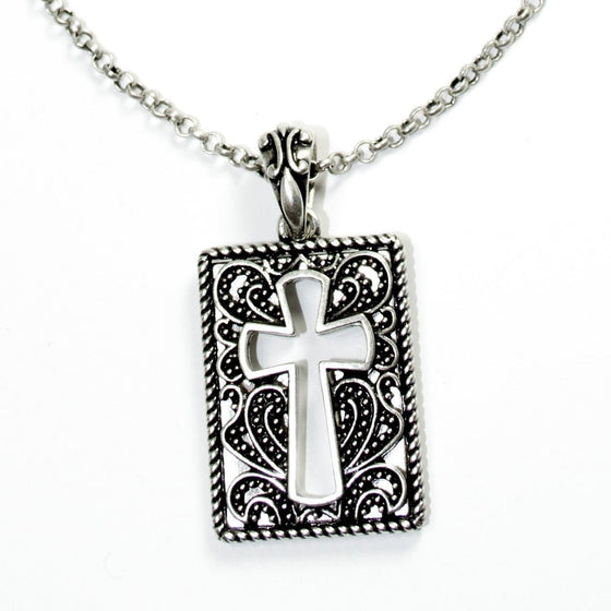 Glory Cross Necklace-Christian Necklaces-Halle Joy-SonGear