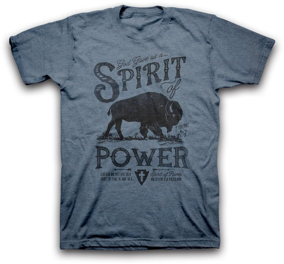 God Gave Us A Spirit of Power Christian T-Shirt-Christian T-Shirts-Kerusso-APT2037SM-SonGear