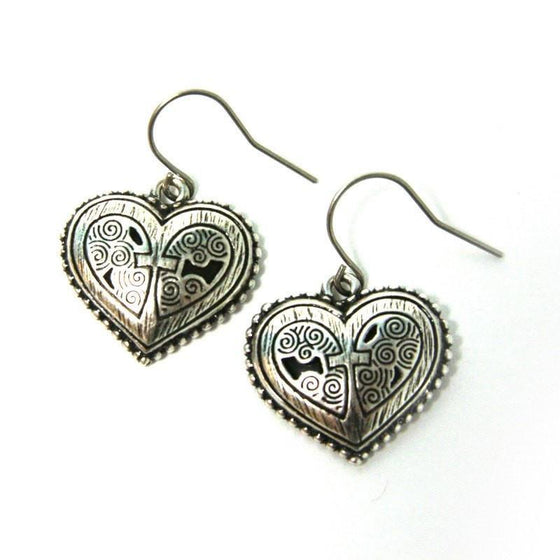 Grace Heart Earring-Christian Earrings-Halle Joy-SonGear