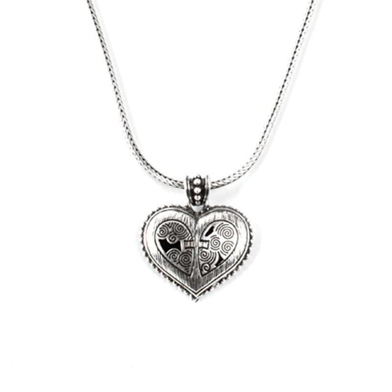 Grace Heart Necklace-Christian Necklaces-Halle Joy-SonGear