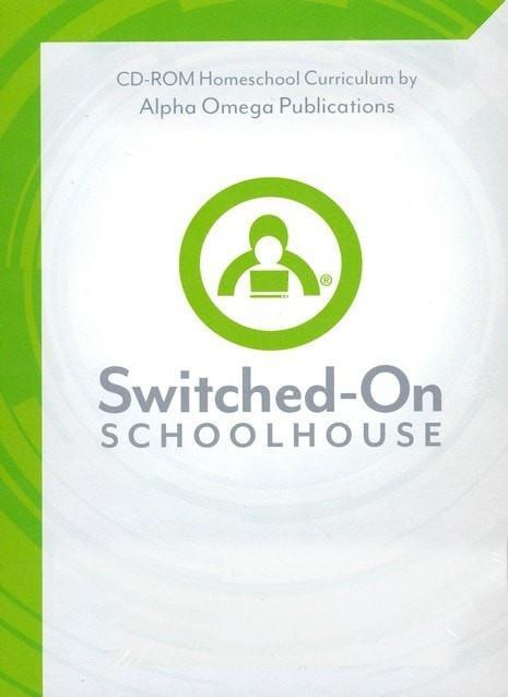 Grade 3 Core 4-Subject Set, Switched-On Schoolhouse-Christian Books-SonGear Marketplace-SonGear