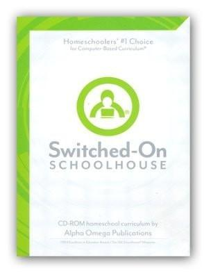 Grade 6 Core 4-Subject Set, Switched-On Schoolhouse-Christian Books-SonGear Marketplace-SonGear