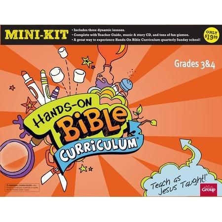 Hands-on Bible Curriculum, Mini-Kit-Grades 3 to 4-Christian Books-SonGear Marketplace-SonGear