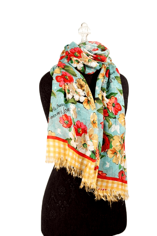 His Banner Over Me Is Love, Scarf-Christian Scarves & Shawls-SonGear Marketplace-SonGear