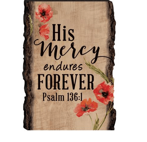 'His Mercy' Wood Sign-Christian Home Decor-SonGear Marketplace-SonGear