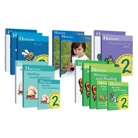 Horizons Grade 2 Complete Curriculum Set-Christian Books-SonGear Marketplace-SonGear