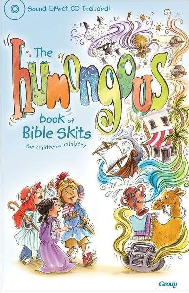 Humongous Book Of Bible Skits For Children w/CD-Christian Music-SonGear Marketplace-SonGear