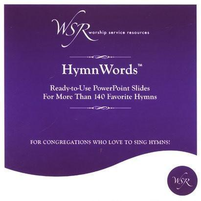 HymnWords: Ready-to-Use PowerPoint Slides for More Than 140 Favorite Hymns-Christian Books-SonGear Marketplace-SonGear
