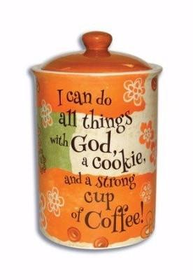 I Can Do All Things Cookie Jar-Christian Cookie Jars-SonGear Marketplace-SonGear