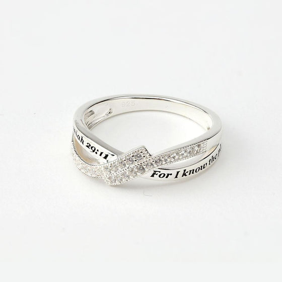 I Know - Affinity Ring - Sterling Silver-Christian Rings-SonGear-SonGear