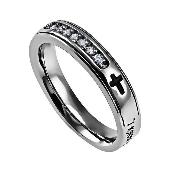'I Know' - Women's Regent Ring-Christian Rings-Spirit and Truth-SGN3949119196-SonGear