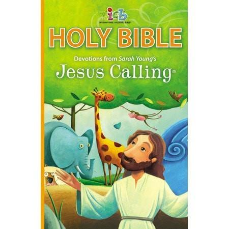 ICB Jesus Calling Bible for Children, Hardcover-Christian Bibles-SonGear Marketplace-SonGear