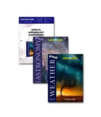 Intro to Meteorology & Astronomy Pack, 3 Volumes-Christian Books-SonGear Marketplace-SonGear