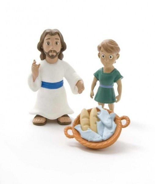 Jesus Feeds The 5000 Playset-Christian Dolls, Playsets & Toy Figures-SonGear Marketplace-SonGear