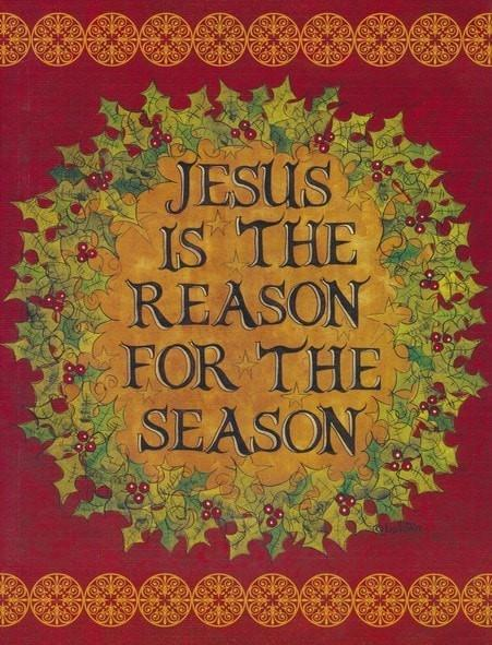 Jesus Is the Reason For the Season, Christmas Cards, Box of 18-Christian Greeting & Note Cards-SonGear Marketplace-SonGear