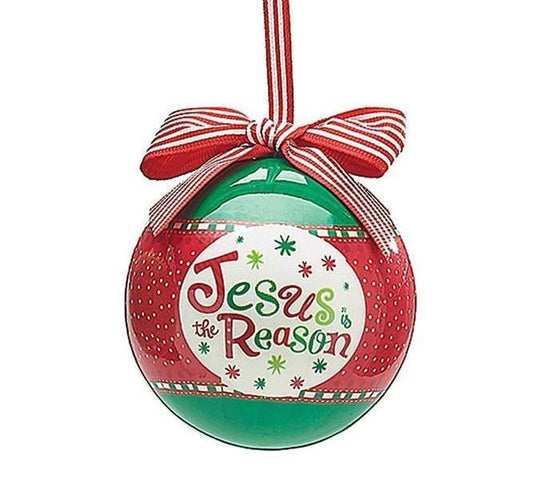 'Jesus is the Reason' Ornament 2016-Christian Holiday Ornaments-SonGear-SonGear