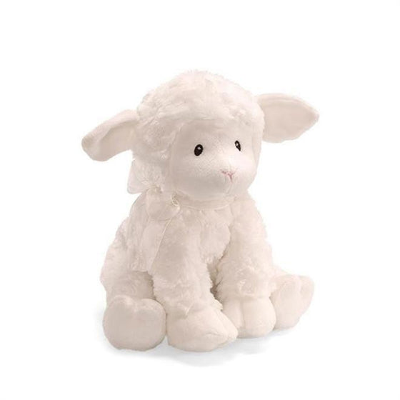 Jesus Loves Me, Musical Wind-Up Lamb-Christian Stuffed Toys-SonGear Marketplace-SonGear